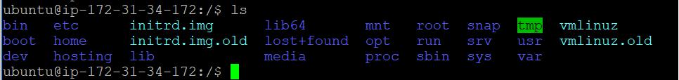 Ubuntu directories inside root